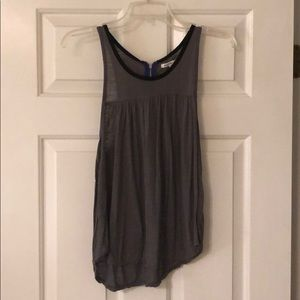 American Eagle sleeveless grey shirt